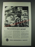 1948 RCA Television Ad - Step Up Beside the Surgeon and Watch