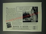 1948 Rock of Ages Ad - Perfect Expression of Our Love