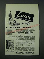 1948 Eclipse 20 Rocket Lawn Mower Ad