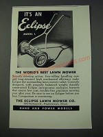 1948 Eclipse Model L Lawn Mower Ad