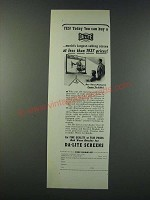1947 Da-Lite Screens Ad - Today You Can Buy