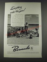 1947 Bermuda Tourism Ad - Everything Under the Sun!