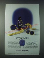 1978 Patek Philippe Watches Ad - Model Ref. 4382 and Ref. 3848/1  - Unmistakable