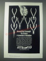 1978 Channellock Little Champ Precision Pliers Ad - Grace a Jeweler's Window