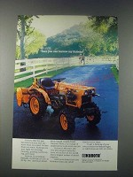 1977 Kubota B7100 Tractor Ad - Sure You Can Borrow