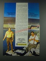 1977 Caterpillar Tractor Co. Ad - That Dam Cost $90 Million
