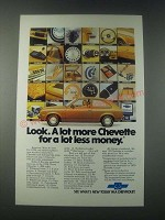 1978 Chevrolet Chevette Coupe Ad - For a Lot Less Money