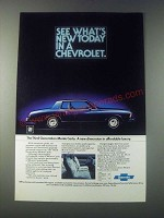 1977 Chevrolet Monte Carlo Ad - See What's New Today