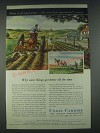 1947 Union Carbide Ad - What is All Knowledge But Recorded Experience?