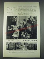 1947 Stromberg-Carlson New World, Dynatomic and Georgian Radios Ad