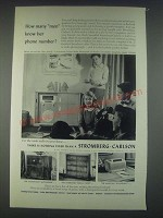 1947 Stromberg-Carlson Ad - New World, Autograph, Salem Chest, Dynatomic Radios