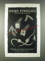 1946 Girard-Perregaux Watches Ad