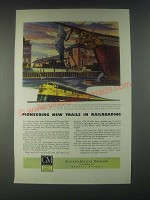 1946 GM General Motors Diesel Locomotive Ad - Chicago and North Western Railway