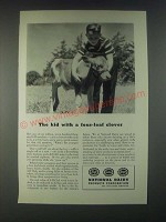 1946 National Dairy Products Corporation Ad - The Kid With a Four-Leaf Clover