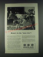 1946 National Dairy Products Corporation Ad - Mama's in the Moo-Vies