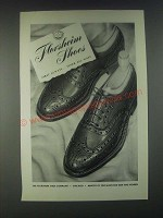1946 Florsheim Shoes Ad - First Always Finer All Ways