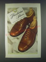 1946 Florsheim Shoes Ad - There's Nothing Finer Afoot