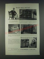 1946 Stromberg-Carlson Radio Ad - Hepplewhite, Dynatomic, New World