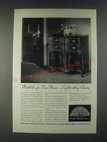 1946 Meissner 18th Century English Radio-Phonograph Ad - Matchless