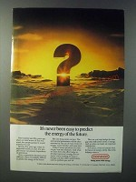 1979 Conoco Oil Ad - It's Never Been Easy to Predict