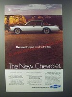 1979 Chevrolet Caprice Sedan Ad - The Smooth, Quiet Road to the Top