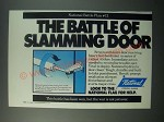 1979 National Hydraulic Door Closer Ad - Battle of Slamming Door