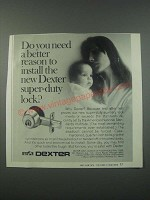 1979 Dexter Super-Duty Lock Ad - Do you Need a Better Reason to Install