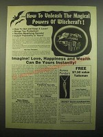 1980 That Special Look The Force of Witchcraft Ad - Unleash Magical Powers