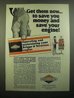1980 Briggs & Stratton Engine Ad - Get Them Now