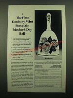 1980 Danbury Mint Porcelain Mother's Day Bell Ad