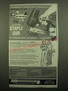 1980 Arrow ET-50 Electric Staple Gun Ad - Do-it-Yourselfer's