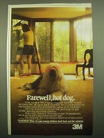 1980 3M Scotchtint film Ad - Farewell, Hot Dog