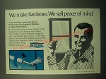 1980 National Hydraulic Door Closer Ad - We Sell Peace of Mind