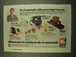 1982 Sentry Hardware Ad - Fix-it-Yourself, With some Help from us