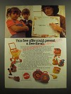 1983 Mattel Toys Ad - This Free Offer Could Prevent a Free-for-All