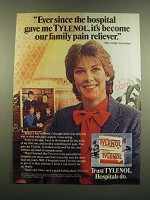 1983 Tylenol Medicine Ad - Ever Since the Hospital Gave Me