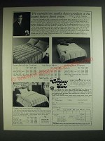 1985 The Company Store Down Comforters Ad - Square Stitch, Austrian, Gstaad