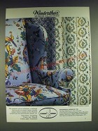 1985 Stroheim & Romann Winterthur Museum Collection Fabric Ad - Darjeeling