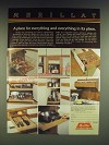 1985 Merillat Kitchen Cabinet Accessories Ad - Merillat A place for everything