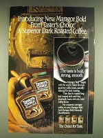 1985 Taster's Choice Coffee Ad - Introducing new Maragor Bold from Taster's