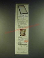 1984 Velux Skylight Ad - You can get this genuine Velux skylight for only $122