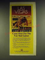 1984 Las Vegas Convention and Vistors Authority Ad - Come over for the fun