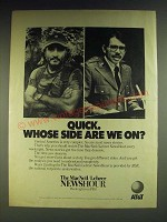 1984 AT&T MacNeil/Lehrer Newshour PBS TV show Ad - Quick. Whose side are we on?