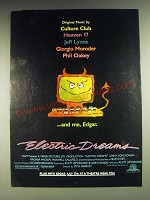 1984 Electric Dreams Movie Ad - Me, Edgar