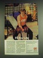 1984 DP Orbatron Weight Discs Ad - Fit for Life