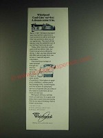 1984 Whirlpool Appliances Ad - Whirlpool cool-line service: A dream come true
