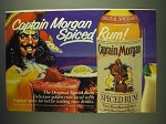 1984 Captain Morgan Spiced Rum Ad