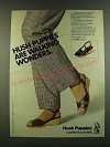 1983 Hush Puppies Shoes Ad - Crest and Dover Sandals