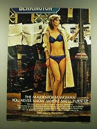 1983 Maidenform Delectables Bra and Bikini Ad - The Maidenform Woman