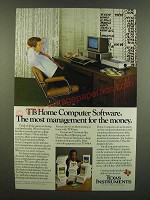 1983 Texas Instruments 99/4A Home computer Ad - Bill Cosby